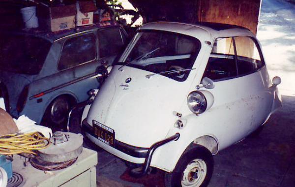 1959 Bmw Isetta Before
