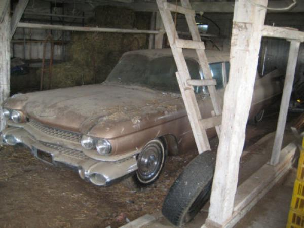 1959 Cadillac Series 75 Imperial Sedan Barn Find