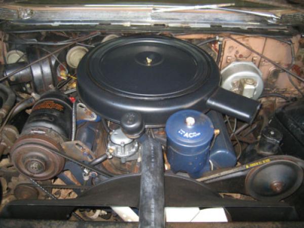 1959 Cadillac Fleetwood Limo Engine