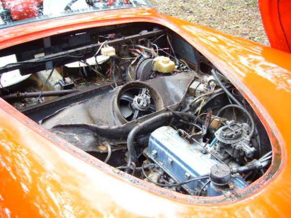 1959 Ladawri Daytona Roadster Engine