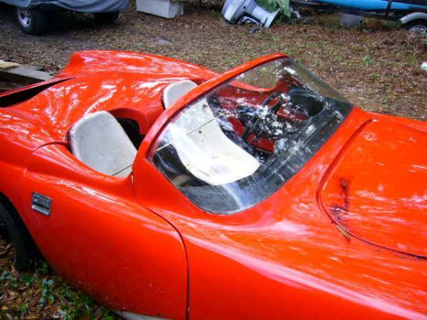 1959 Ladawri Daytona Roadster Interior