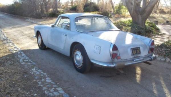 1959 Lancia Flaminia Gt Rear