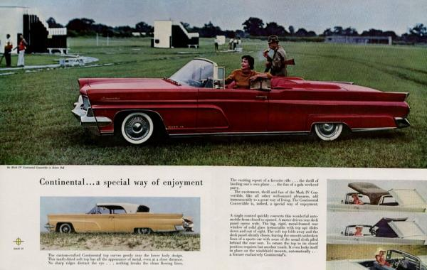 1959 Lincoln Continental Convertible Brochure