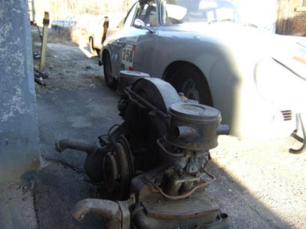 1959 Porsche 356a Project Engine