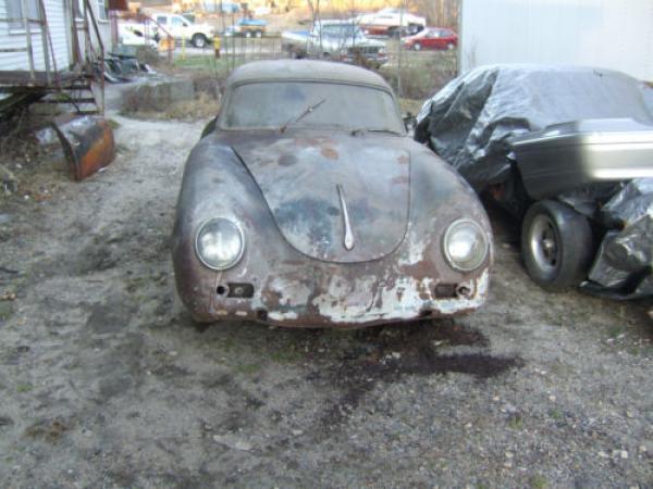1959 Porsche 356a Project Front