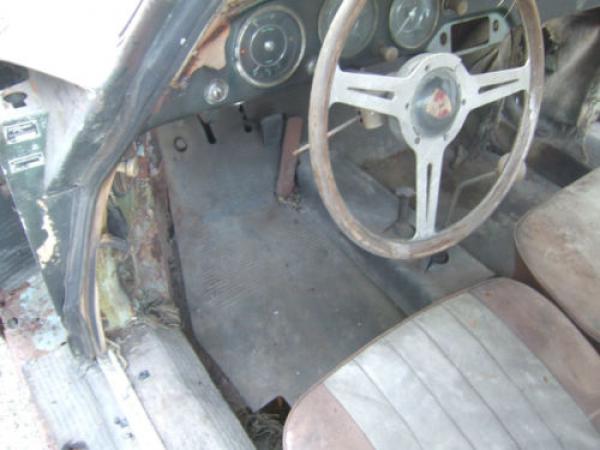 1959 Porsche 356a Project Interior