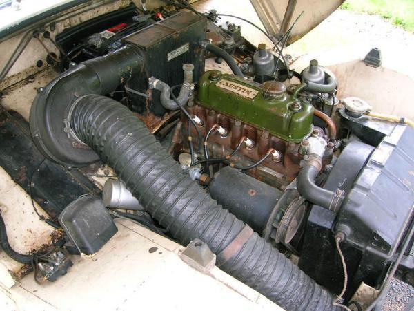 1959 Austin Healey Sprite Engine
