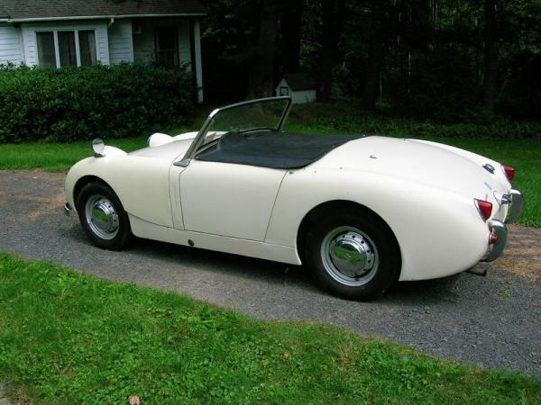 1959 Austin Healey Sprite Rear Corner