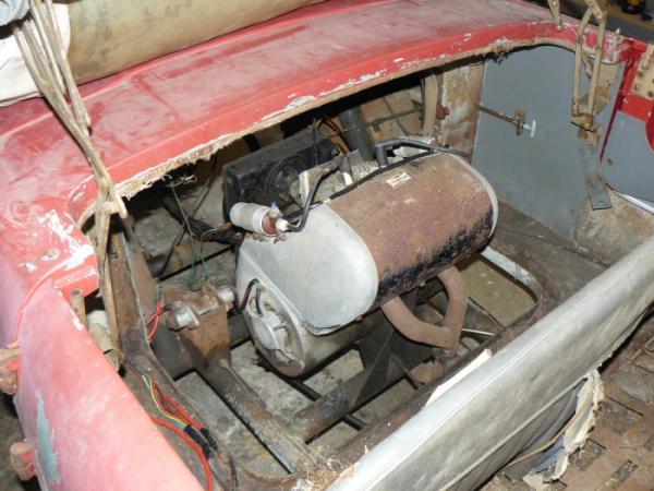 1959 Meadows Friskysport Engine