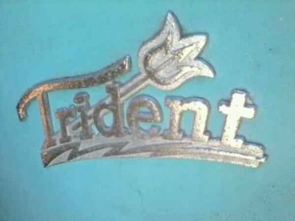 1959 Taylor Dunn Trident Logo