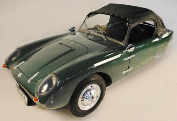 1960 Berkeley T60 Front