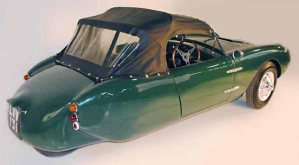 1960 Berkeley T60 Rear