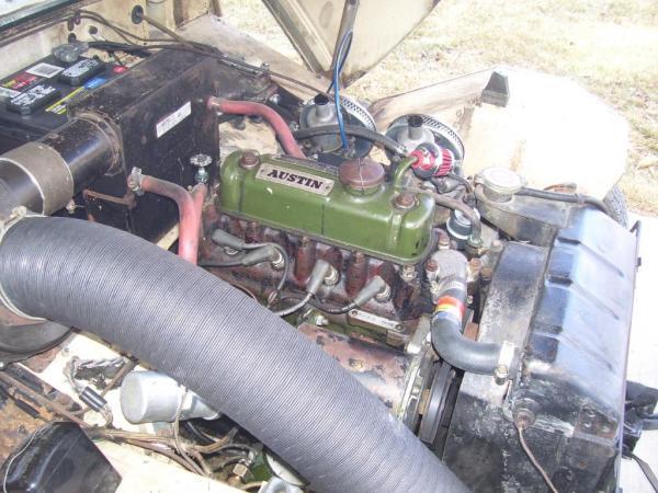 1960 Bugeye Sprite Garage Find Engine