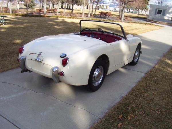 1960 Bugeye Sprite Garage Find Rear