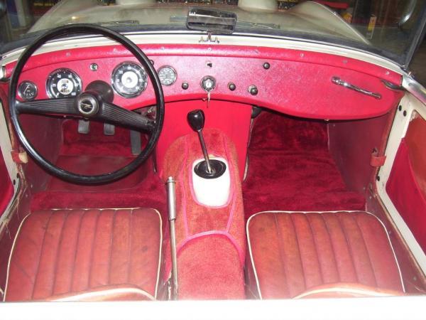 1960 Bugeye Sprite Garage Find Red Interior