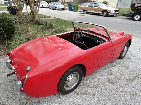 1960 Bugeye Sprite Rear