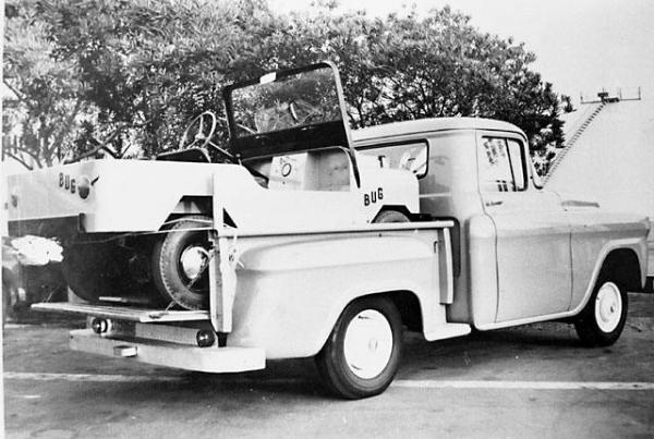 1960 Crofton Bug On Truck