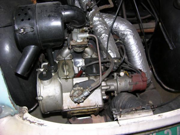 1960 Loyd Alexander Ts Engine