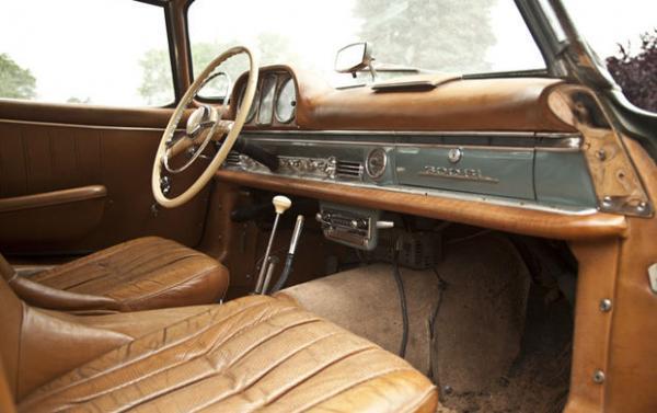 1960 Mercedes Benz 300 Sl Roadster Interior