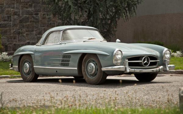1960 Mercedes Benz 300 Sl Roadster