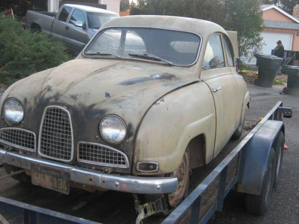 1960 Saab 93 Project Front
