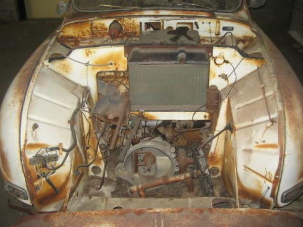 1960 Saab 93f Rally Project Engine