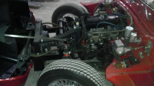 1960 Sabra Sports Roadster Survivor Engine