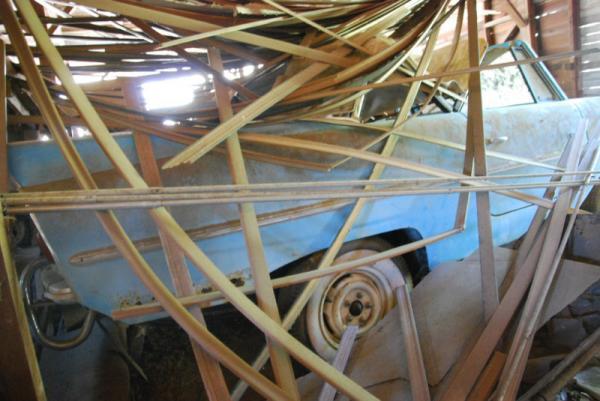 1960 Amphicar Barn Find Rear Corner