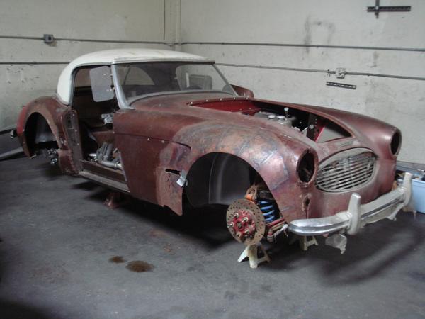 Austin Healey For Sale >> Franken-Healey: 1960 Austin Healey 3000