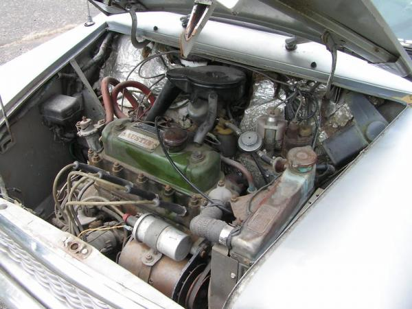 1960 Austin Mini Engine