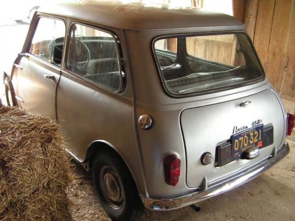 1960 Austin Mini Rear Corner