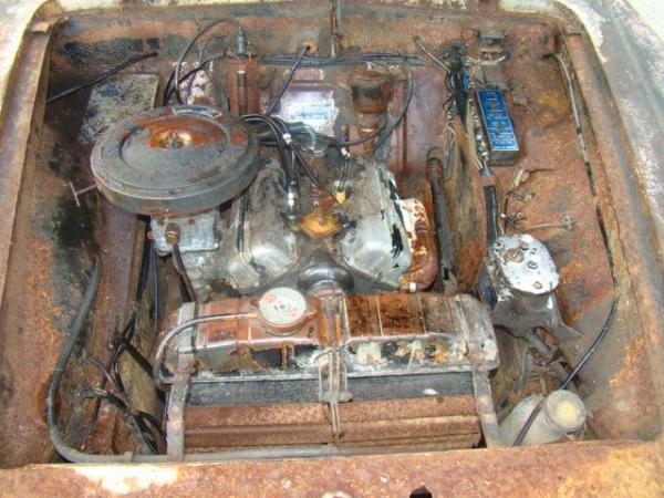 1960 Lancia Appia Coupe Engine