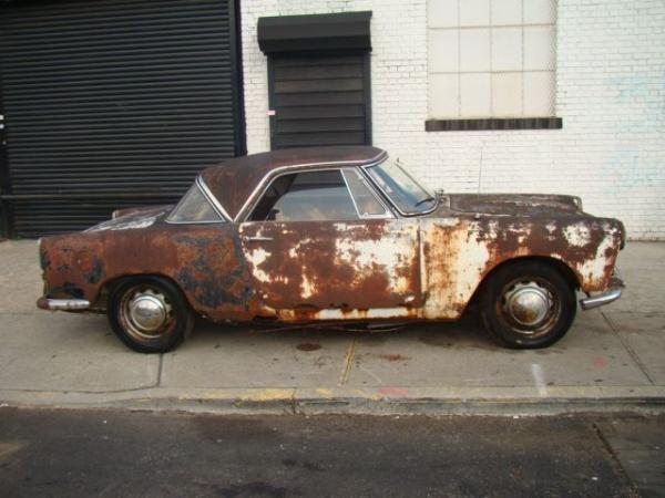 1960 Lancia Appia Coupe Side