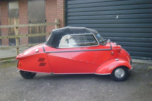 1960 Messerschmitt Kr200 Side