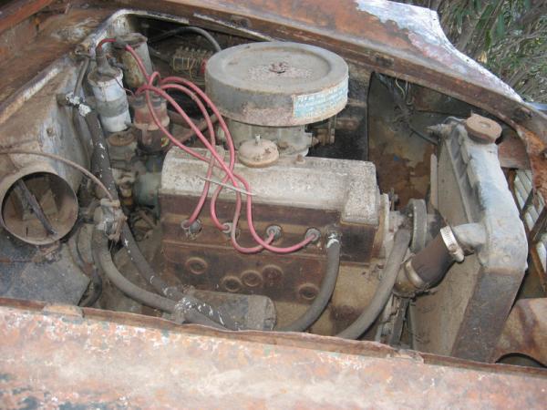 1960 Moretti Tour Du Monde Engine