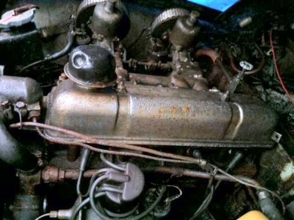 1960 Triumph Tr3a Engine