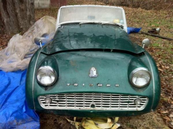 1960 Triumph Tr3a Front