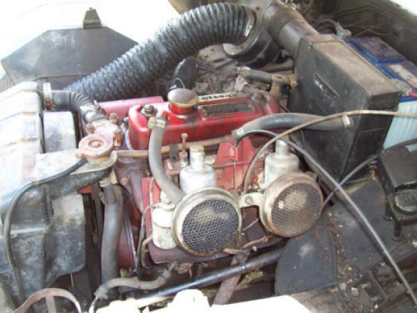 1961 Austin Healey Bugeye Sprite Engine