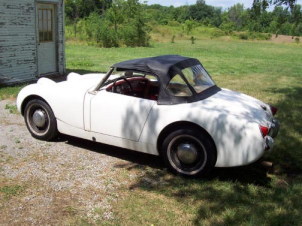 1961 Austin Healey Bugeye Sprite Rear