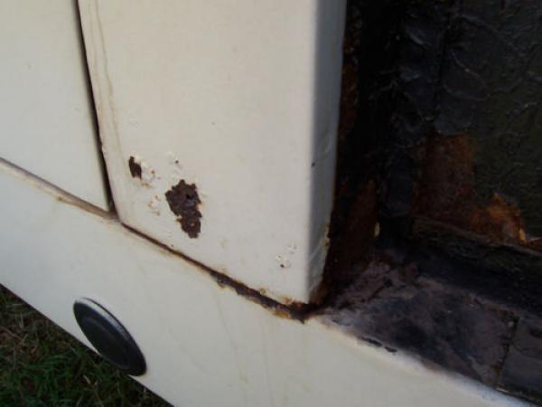 1961 Austin Healey Bugeye Sprite Rust
