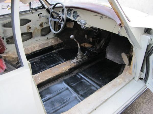 1961 Porsche 356b Notchback Interior Floors