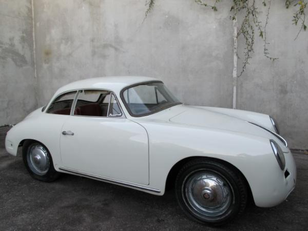 1961 Porsche 356b Notchback Side