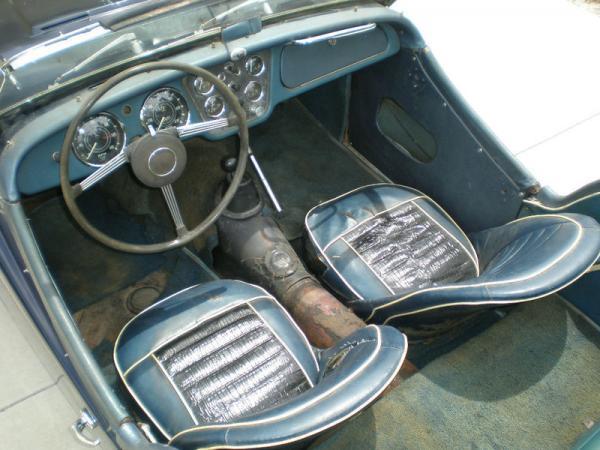 1961 Triumph Tr3 Garage Find Interior