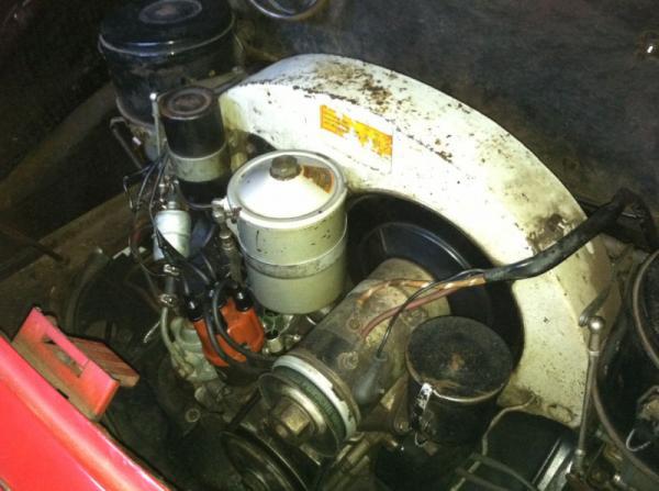 1961 Porsche 356 B Engine