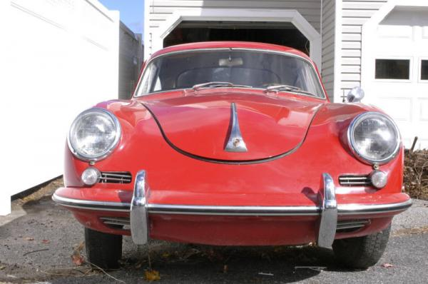 1961 Porsche 356 B Front
