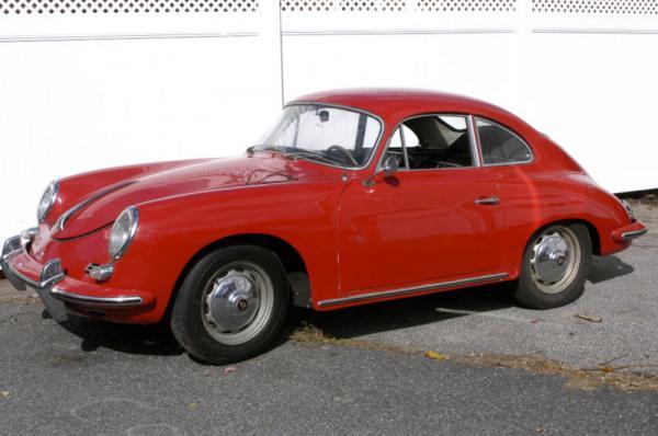1961 Porsche 356 B Front Corner