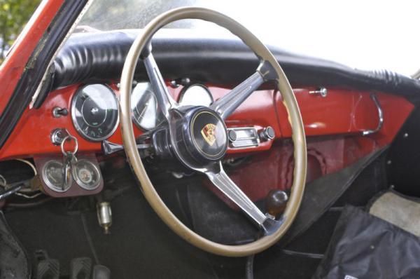 1961 Porsche 356 B Interior