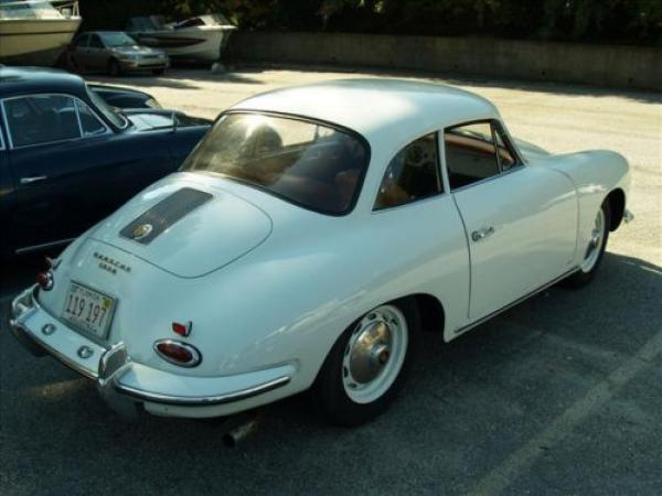 1961 Porsche 356b Notchback Rear Corner