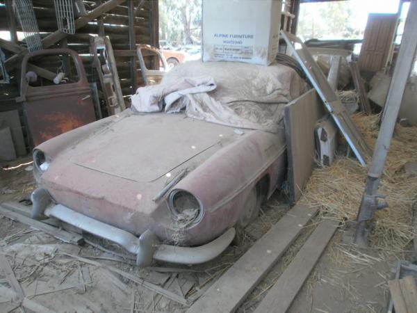1961 Renault Caravelle Front Corner