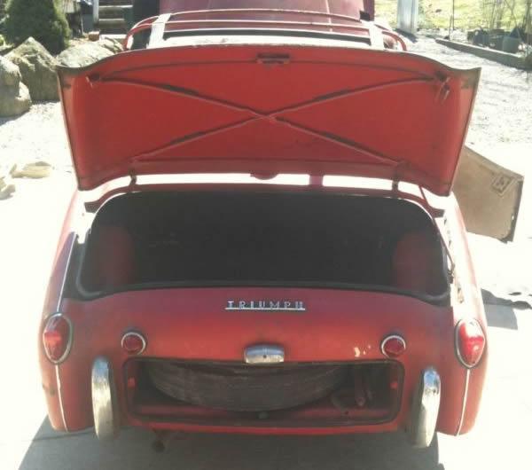 1961 Triumph Tr3 Rear